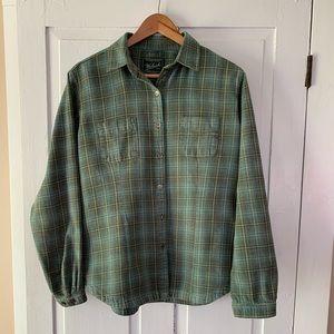 Woolrich Flannel Plaid Button Up
